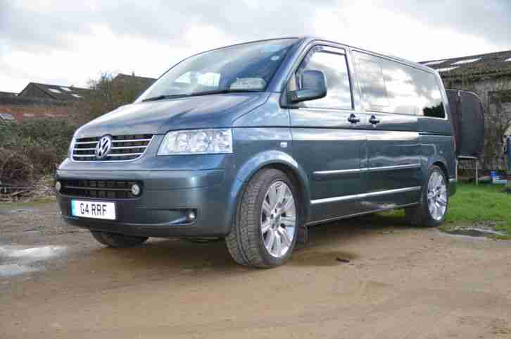 2006 VOLKSWAGEN CARAVELLE SE 2.5 TDI 170. lots of extras.