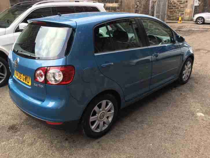 2006 GOLF PLUS GT TDI BLUE 74000