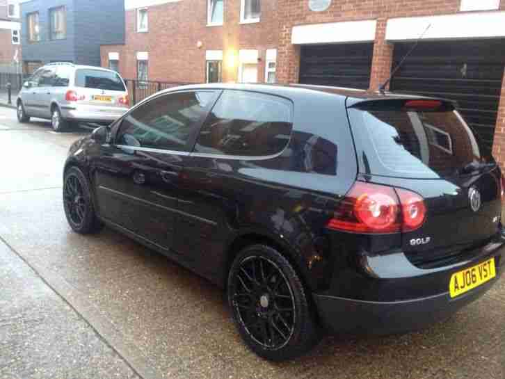 volkswagen 2006 golf sport gt tdi black 140bhp 3 door car for sale. Black Bedroom Furniture Sets. Home Design Ideas