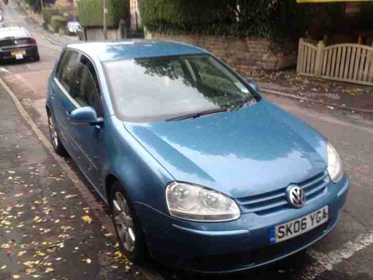 2006 GOLF TDI SPORT BLUE