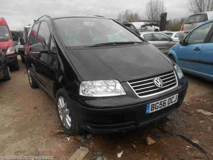 2006 SHARAN SE BLACK 2.0 TDI CAT C