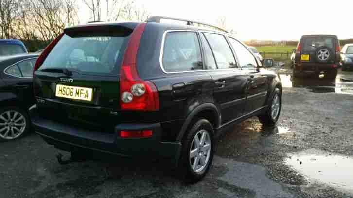 Volvo 2006 XC90 BLACK LEATHERS D5 DIESEL 7 SEATER 4X4. car for sale