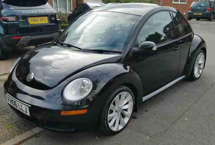 2006 vw beetle 1 9 tdi black recent new clutch and cambelt car for sale. Black Bedroom Furniture Sets. Home Design Ideas