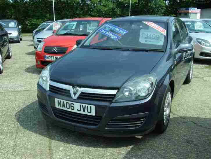 2006 Vauxhall Astra Life 16v Twinport 1.4