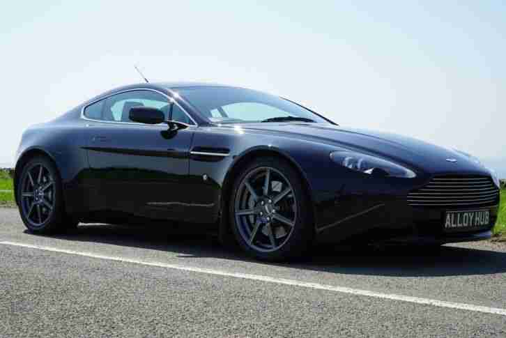 2007 07 ASTON MARTIN VANTAGE 4.3 V8 6 SPEED MANUAL 2 DR COUPE ONYX PEARL BLACK