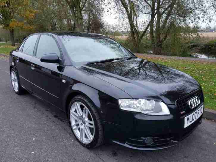 audi 2007 07 a4 2 0 tdi quattro 170 bhp s line special. Black Bedroom Furniture Sets. Home Design Ideas