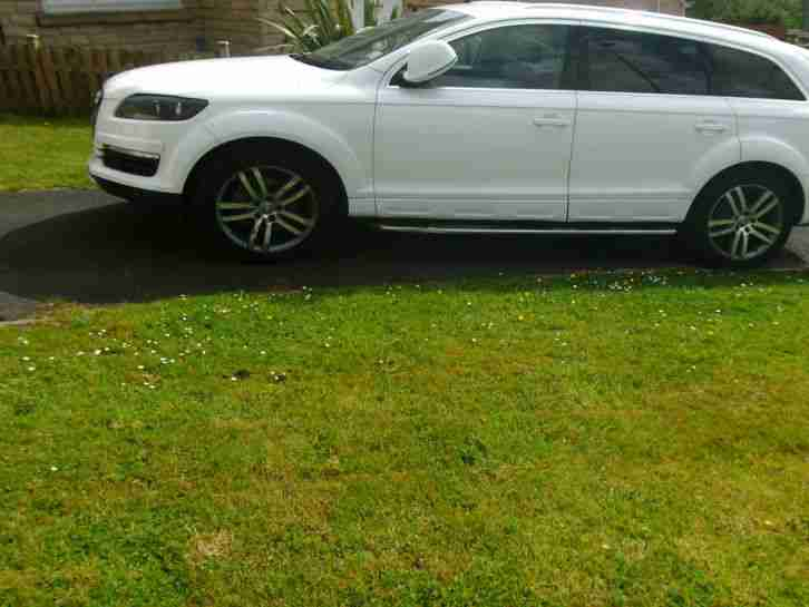 2007/07 AUDI Q7 3.0 TDI LIMITED EDITION TIPTRONIC