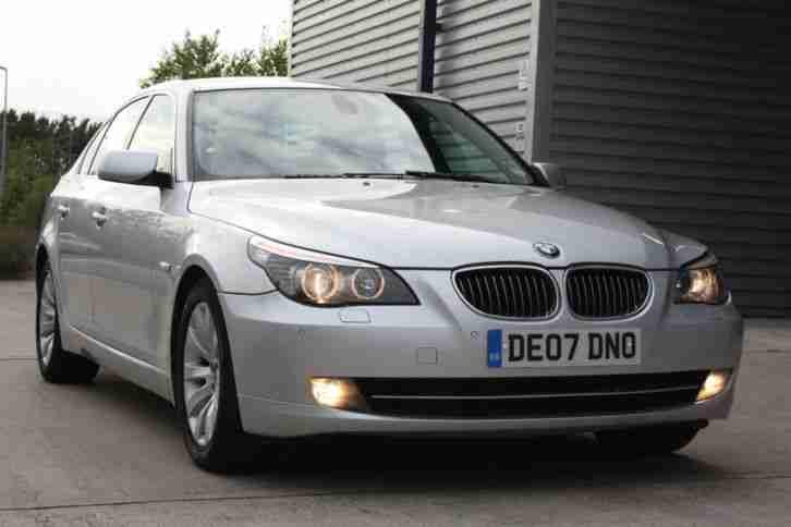 bmw 2007 07 530d 3 0td se manual silver diesel e60 5 series car for sale. Black Bedroom Furniture Sets. Home Design Ideas