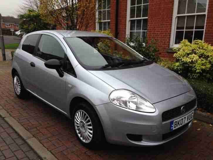 2007 07 FIAT PUNTO ACTIVE 1.2 3 DOOR HATCHBACK *FULL FIAT HISTORY* *LOW MILES*