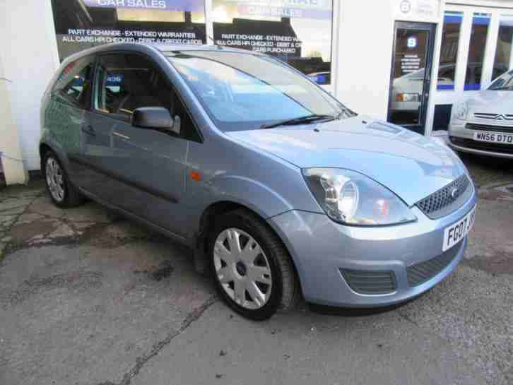 2007 07 FORD FIESTA 1.25 CLIMATE, ONE OWNER FROM NEW, FULL SERVICE HISTORY