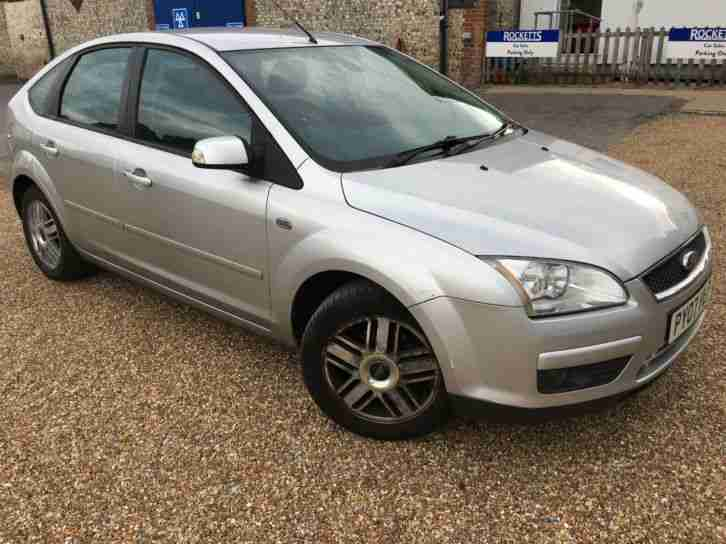 2007 '07' Ford Focus 1.6 Ghia. Petrol. Manual. 5 Door. Bargain. Px Swap