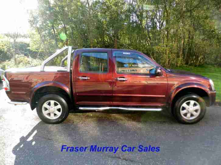 2007 (07) Isuzu Rodeo Denver Max TD I-C 4 Door Pick-Up