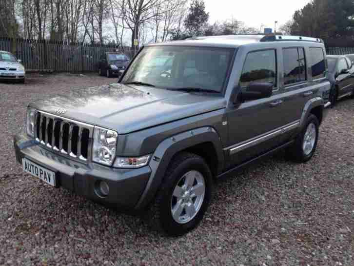 2007 07 JEEP COMMANDER 3.0 V6 CRD LIMITED 5D AUTO 215 BHP DIESEL