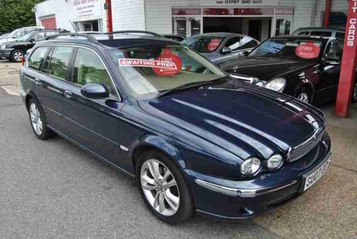 jaguar 2007 07 x type 2 2 diesel se estate car for sale. Black Bedroom Furniture Sets. Home Design Ideas