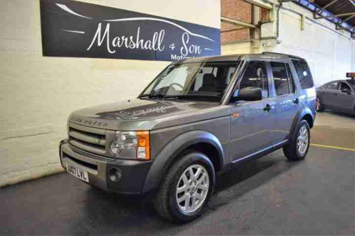 2007 07 LAND ROVER DISCOVERY 3 2.7 3 TDV6 XS