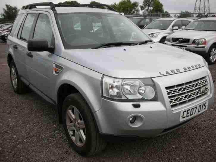 2007 07 LAND ROVER FREELANDER 2.2 TD4 GS 5D