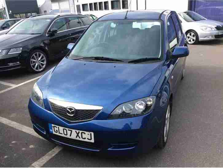 2007 07 MAZDA 2 1.4TD CAPELLA 5 DR~ONLY 71500 MLS~MET BLUE~2 OWNERS~LOVELY~