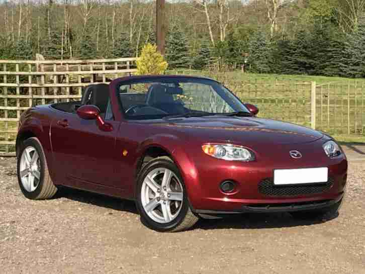 2007 07 MAZDA MX5 MX 5 1.8i CONVERTIBLE (OPTION PACK) 55K FULL MAZDA HISTORY