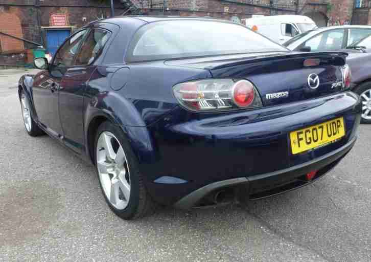 2007 '07' MAZDA RX-8 1.3 (190 BHP) PETROL. FULL 12 MONTH MOT. FULL LEATHER