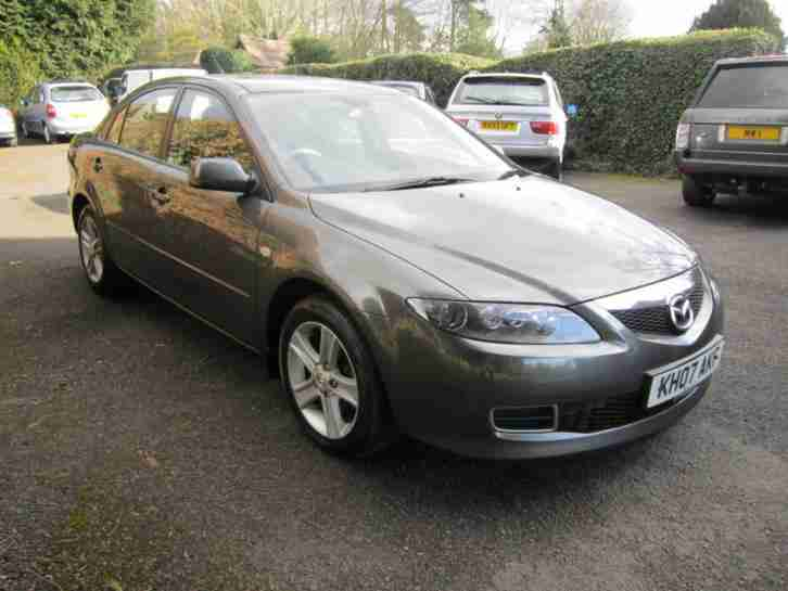 2007/07 Mazda Mazda6 2.0TD Diesel S 5 Door Hatch GREY METALLIC