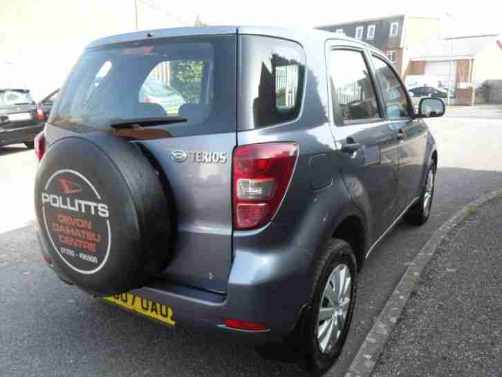 2007 (07) ( NEW MODEL ) DAIHATSU TERIOS S 4X4 FULL MOT GREY