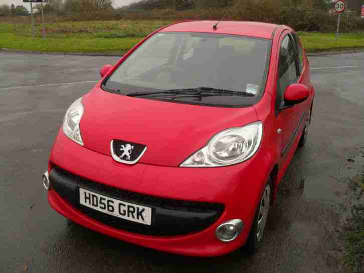 2007 07 Peugeot 107 1.0 12v Urban LOW MILES LOW INSURANCE AND TAX