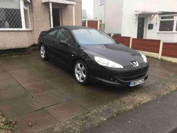 2007 07 peugeot 407 coupe 2 7 v6 hdi diesel auto 202 bhp car for sale. Black Bedroom Furniture Sets. Home Design Ideas