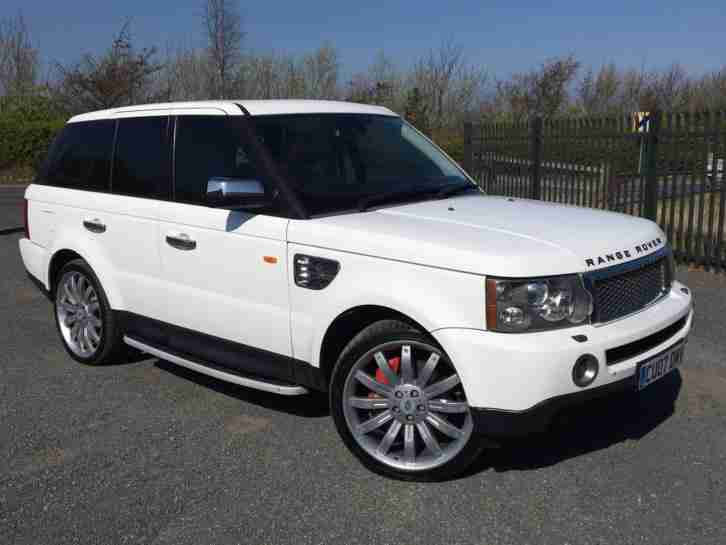 2007 07 RANGE ROVER SPORT DIESEL AUTOMATIC