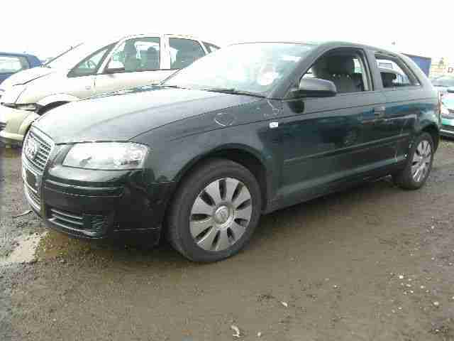 2007 07 REG AUDI A3 TURBO DIESEL SPECIAL EDITION DAMAGED REPAIRABLE SALVAGE