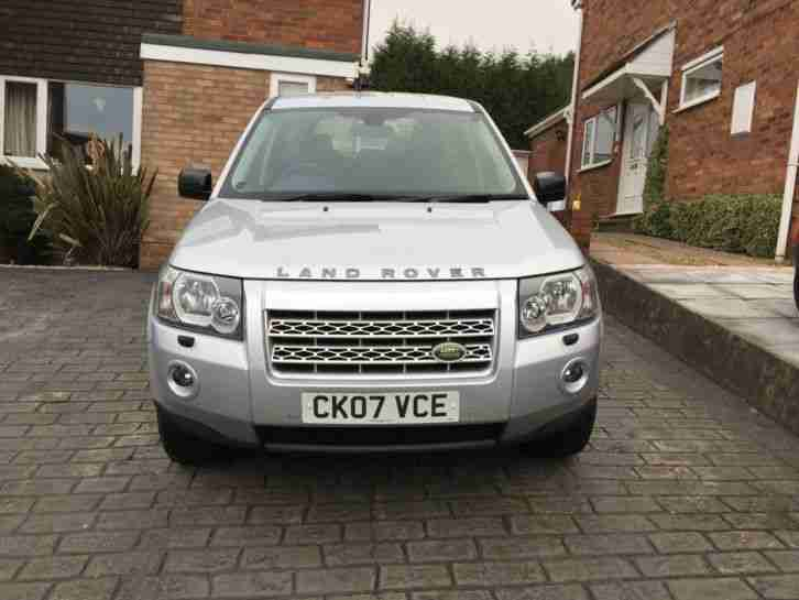 2007 07 REG LAND ROVER FREELANDER XS TD4 A SILVER MAY PX