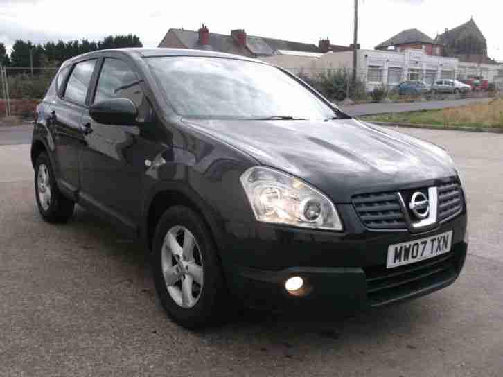 Nissan Salvage For Sale Repairable Cars At Auction Prices: Nissan 2007 07 REG QASHQAI 2.0 CVT AUTO ACENTA LIGHT