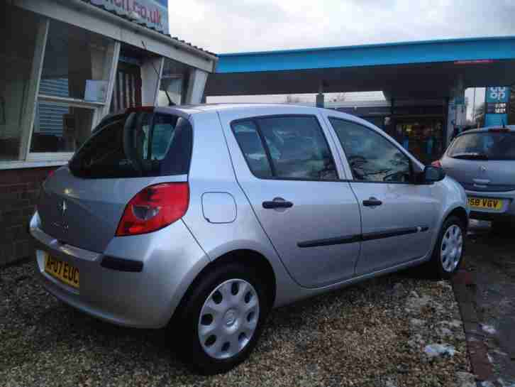 renault 2007 07 clio 1 5 dci expression turbo diesel finance available. Black Bedroom Furniture Sets. Home Design Ideas