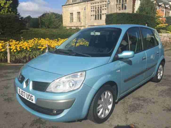 renault 2007 07 scenic 1 6 vvt 111bhp dynamique car for sale. Black Bedroom Furniture Sets. Home Design Ideas