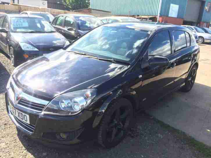 2007/07 Vauxhall/Opel Astra 1.8i 16v 140ps SRi LONG MOT EXCELLENT RUNNER