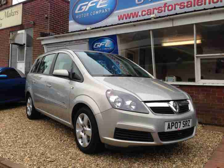 2007 07 Vauxhall Zafira 1.6i Club 7 SEATER SEATS FINANCE AVAILABLE