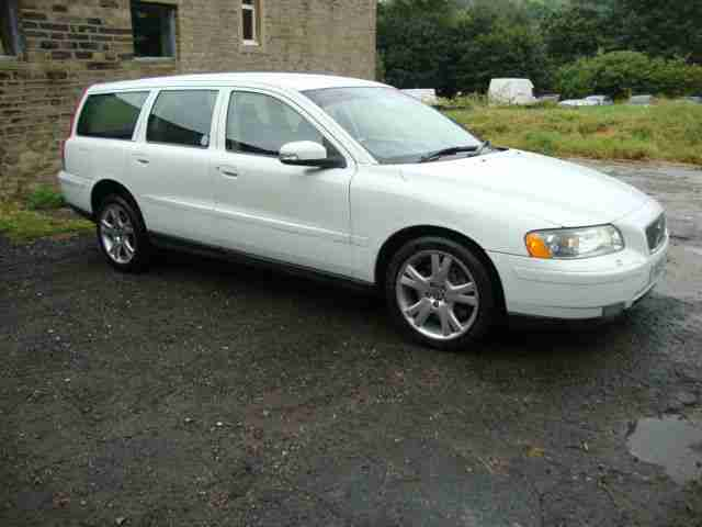 2007 07 Volvo V70 T5 white direct police Xenons LAST ONE SURELY?!! 132k