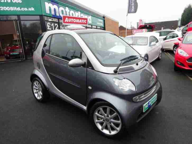 2007 56 SMART FORTWO 0.7 PASSION SOFTOUCH 2D AUTO 61 BHP
