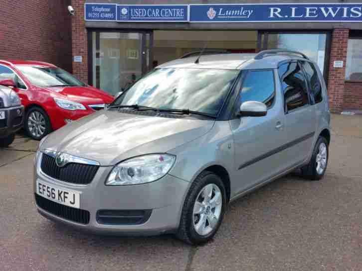 2007 (56) Skoda Roomster 2 1.9 TDI [105] 8 Services, Privacy Glass, 1.9 Diesel