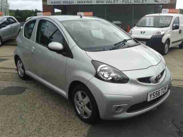 toyota 2007 56 aygo 1 0 vvt i sport 3dr car for sale. Black Bedroom Furniture Sets. Home Design Ideas