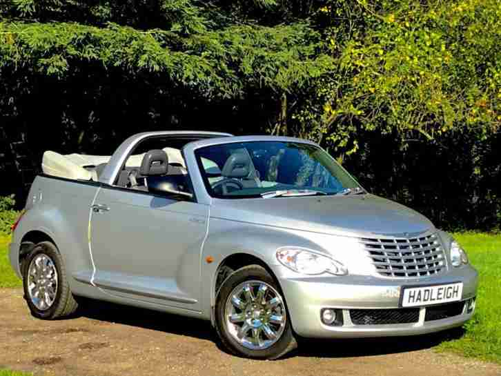 2007 57 CHRYSLER PT CRUISER CONVERTIBLE. 2.4 PETROL AUTO LIMITED ONLY 31K MILES
