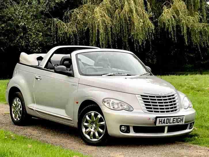 chrysler 2007 57 pt cruiser convertible 2 4 petrol rhd auto limited. Black Bedroom Furniture Sets. Home Design Ideas