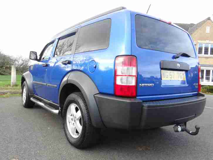 2007 57 DODGE NITRO SE CRD 4X4 DIESEL CHROME SIDE BARS STUNNING THROUGHOUT