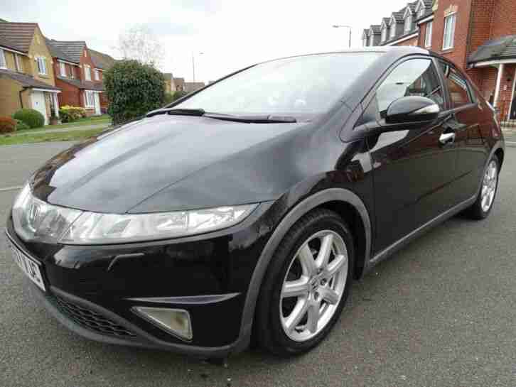 2007 57 HONDA CIVIC EX I CDTI 2.2 DIESEL 6 SPEED MANUAL SAT NAV SERVICE HISTORY