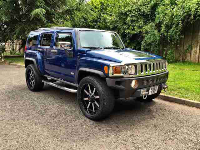 2007 57 Hummer H3 3.7 SE Luxury 4x4 GENUINE LOW MILEAGE