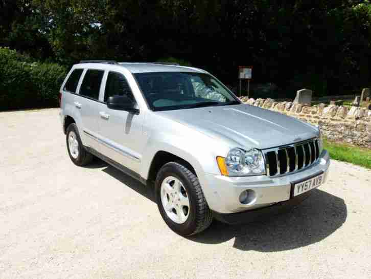 jeep 2007 57 grand cherokee 3 0crd v6 limited auto. Black Bedroom Furniture Sets. Home Design Ideas