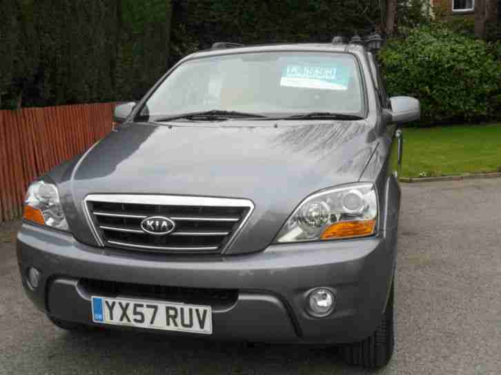 2007/57 KIA SORENTO CRDI XE DIESEL 4x4, LOW MILAGE * CAT D REPAIRED *