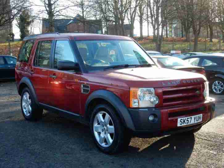 2007 57 LAND ROVER DISCOVERY 2.7 3 TDV6 HSE 5D AUTO 188 BHP DIESEL