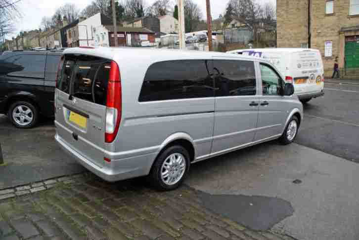2007 57 MERCEDES - BENZ VITO 2.1CDI 115 MANUAL EXTRA LONG 8 SEAT MINIBUS