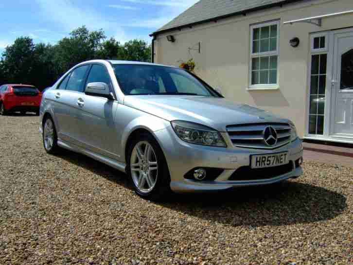 2007 57 mercedes c220 sport amg cdi auto silver 1 owner