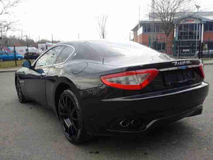 2007 57 Maserati Granturismo Gran Turismo 4.2 V8 Low Mileage FULLY LOADED Black